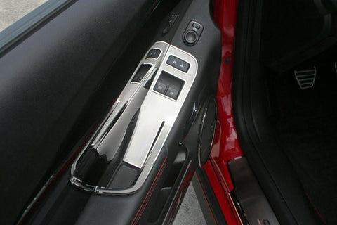 Camaro Door Handle Pull / Switch Deluxe Trim Plate 2Pc 2012-2013 Coupe only