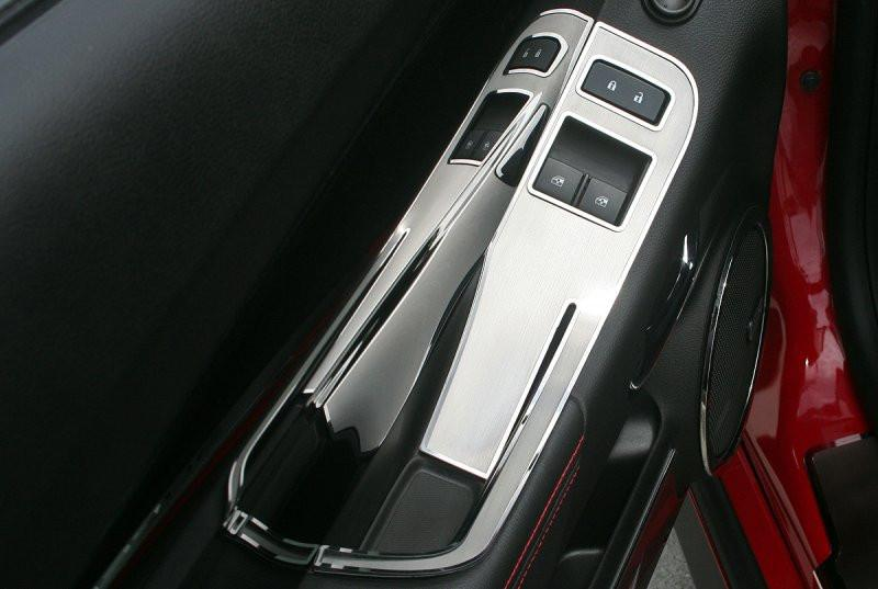 Camaro Door Handle Pull / Switch Deluxe Trim Plate 2Pc 2012-2013 Coupe only American Car Craft