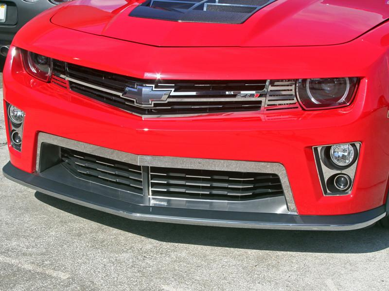 American Car Craft Camaro Front Lip Spoiler Trim Chrome
