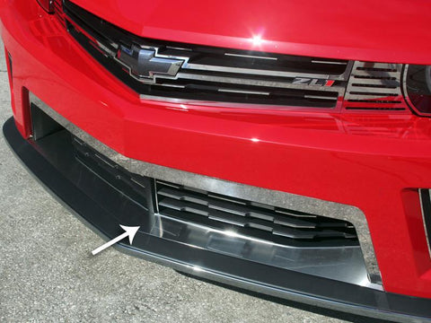 Camaro Splitter Lower Front Trim Brushed 2012-2013 ZL1 only American Car Craft