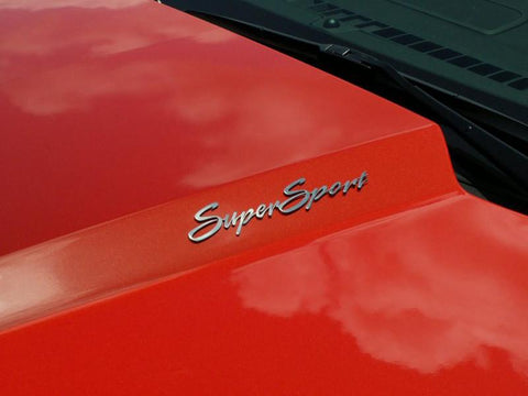 "Camaro ""Super Sport"" Emblems 2Pc 