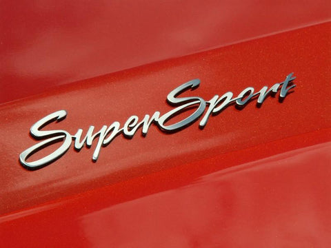 "Camaro ""Super Sport"" Emblems 2Pc American Car Craft"