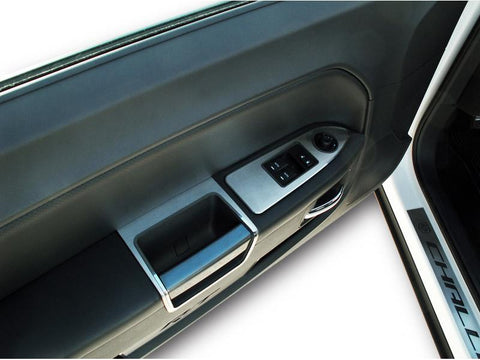 Challenger 5.7 and SRT 8 Door Handle Pull Trim Brushed 2Pc 2008-2014 American Car Craft