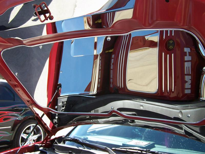 Chrysler 300 / Dodge Charger/Magnum Hood Panel Polished 2005-2010 American Car Craft