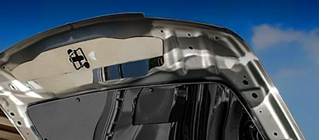 Chrysler 300 / Dodge Charger/Magnum Upper Hood Cap Polished 2005-2010 American Car Craft
