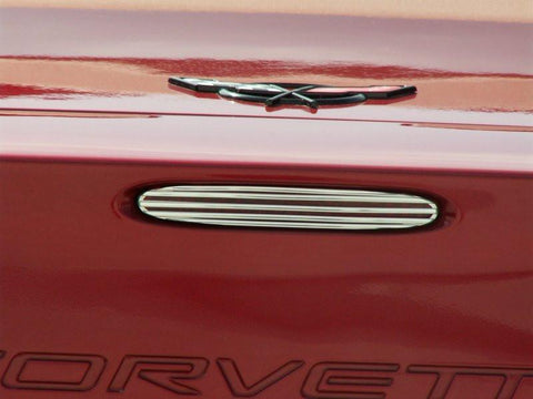 Corvette 5th Brake Light Grille Billet Style 2005-2013 C6 all American Car Craft