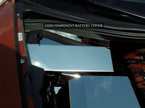 Corvette Battery Cover Polished 2008-2013 C6 only American Car Craft