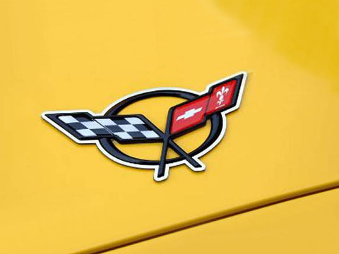 Corvette C5 Emblem Trim 2Pc 1997-2004 C5 & Z06
