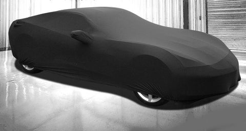 Corvette Car Cover - Onyx Premium Stretch Fit Indoor Car Cover