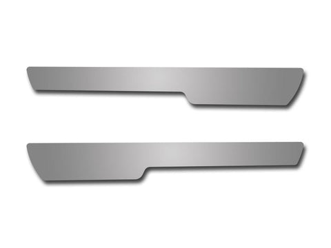 Corvette Doorsills Outer Stock Pad Inserts Polished 2Pc 2005-2007 C6