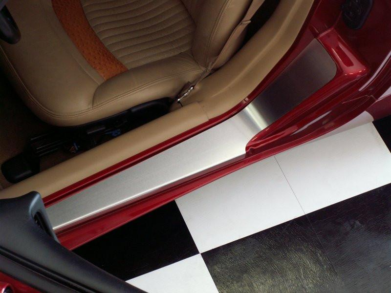 Corvette Doorsills Outer with NO Ribs 2pc 1997-2004 C5 & Z06 American Car Craft