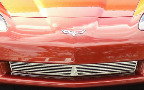 Corvette Front Grille Billet Style Polished 2005-2013 C6 only American Car Craft