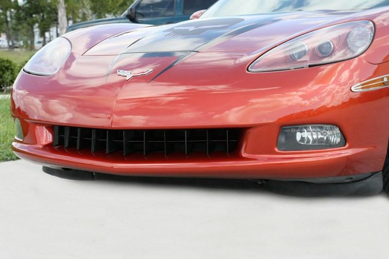 Corvette Grille Retro Style Front Blakk Stealth 2005-2013 C6 only American Car Craft