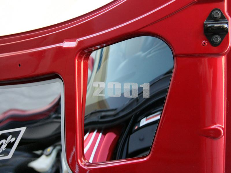 Corvette Hood Insert - Upper Right Polished CHOOSE YEAR 1997-2004 C5 & Z06 American Car Craft