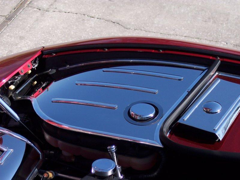 Corvette Inner Fender Covers w/Chrome Cap Covers Polished 1997-2004 C5 & Z06 American Car Craft