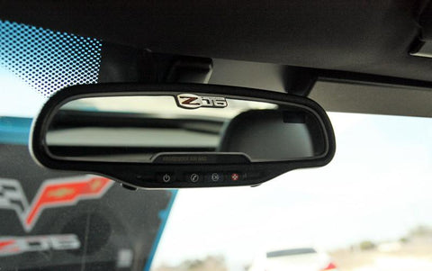 Corvette Rear View Mirror Trim Z06 505HP 2006-2013 American Car Craft