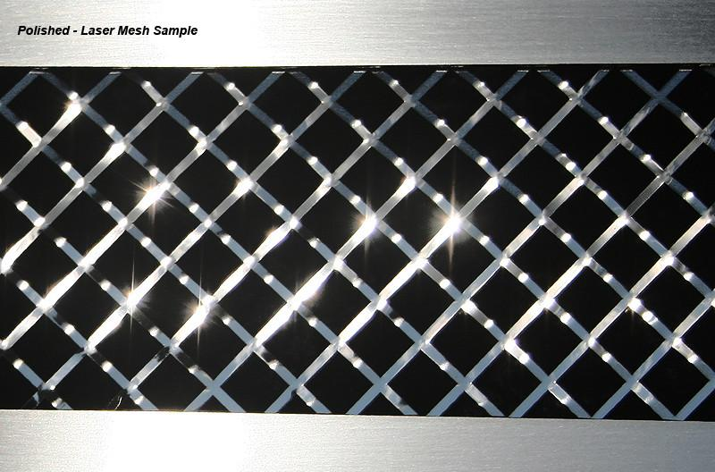 Corvette Side Vent Grilles Laser Mesh 6Pc 2010-2013 Grand Sport only American Car Craft