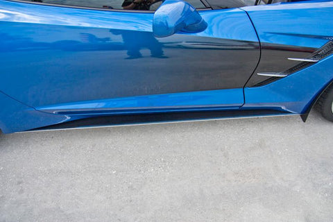 Corvette Stingray Carbon Fiber Side Skirts [2014-2018 C7] American Car Craft