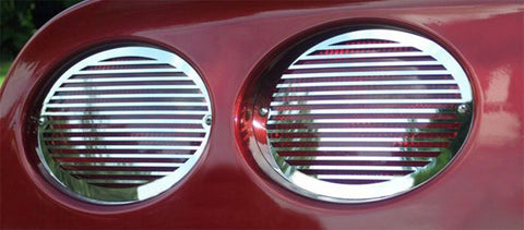 Corvette Taillight Grilles 4Pc Set - Billet Style 1997-2004 C5 & Z06 American Car Craft