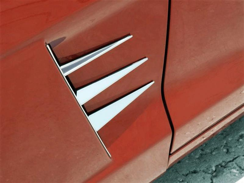 Corvette Vent Spears only 6Pc Polished 2005-2012 C6 only American Car Craft