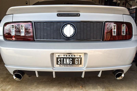 "Custom ""SUPERCHARGED"" License Plate Frame American Car Craft"