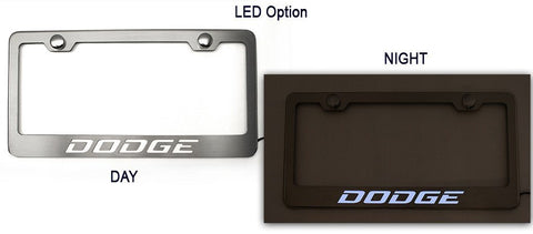 "Custom""Dodge"" License Plate Frame"