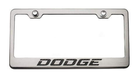Custom Dodge License Plate Frame
