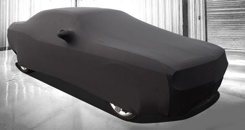 Dodge Challenger Car Cover - Onyx Premium Stretch Fit Indoor Car Cover American Car Craft