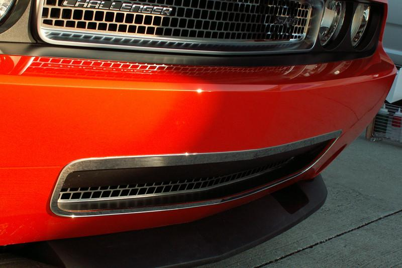 Dodge Challenger Grille Lower Trim Ring Polished 2008-2010 American Car Craft