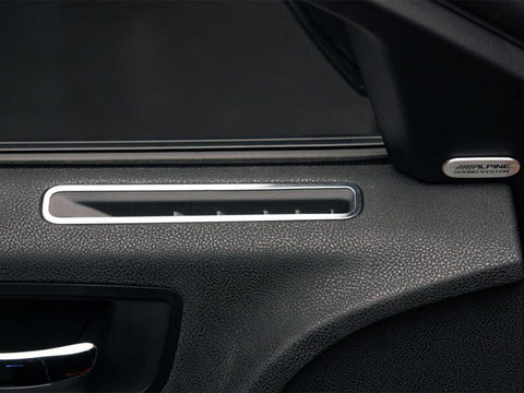 Dodge Charger A/C Vent Door Trim Polished 2Pc 2011-2013