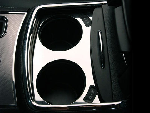 Dodge Charger Cup Holder Trim Plate Polished 2011-2013