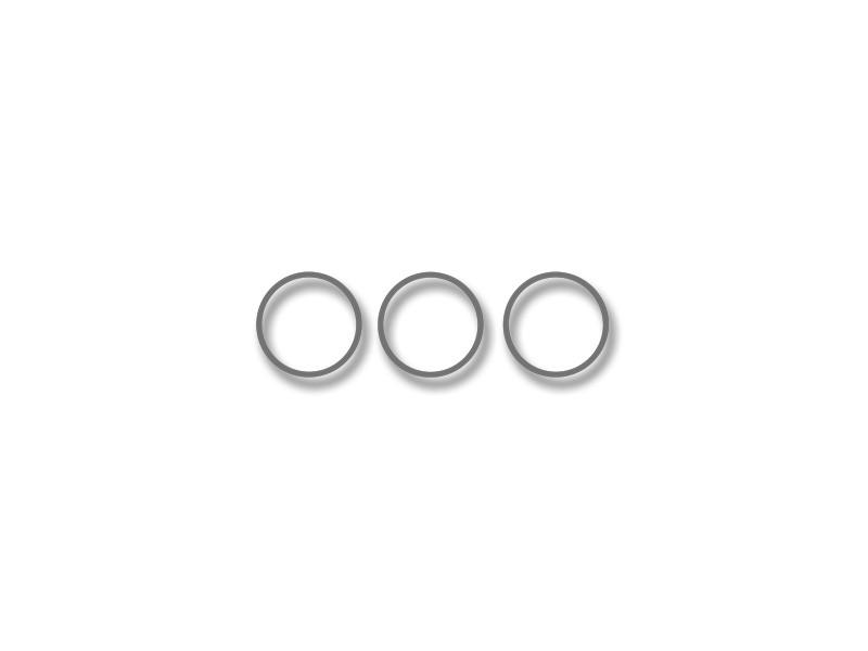 Dodge Charger Dash Trim Rings Polished 3Pc 2011-2013 American Car Craft