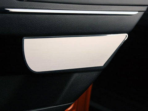 Dodge Charger Door Badges 2Pc Rear Brushed 2011-2013