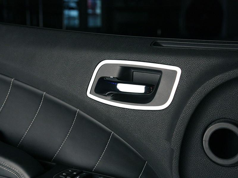 For Dodge Charger 2011-2013 ACC Polished Cup Holder Trim