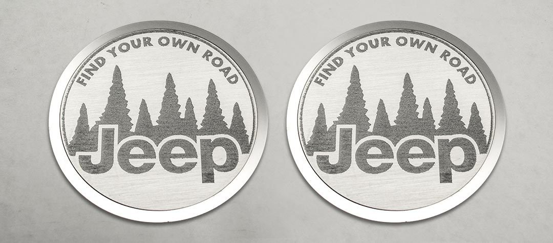 Find Your Own Road Badges (07-18 Jeep Wrangler JK) | 2PC American Car Craft