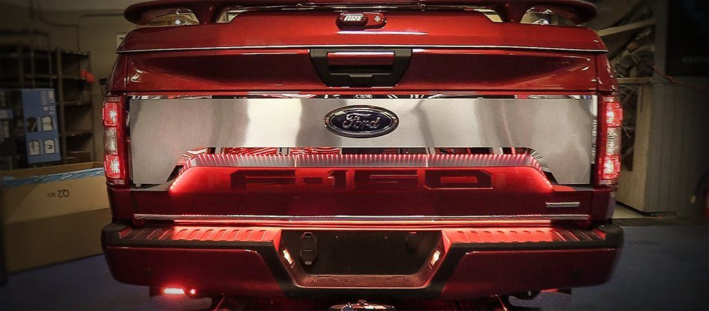 Ford Raptor For Sale >> Ford F-150 Tailgate Upgrade Kit (2018) | American Car Craft