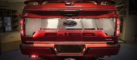 2018 Ford F-150 - Tailgate Upgrade Kit | Stainless Steel & Optional LED Illumination