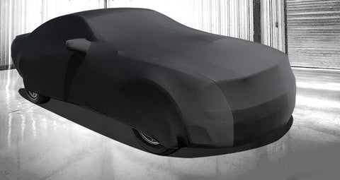 Ford Mustang Car Cover - Onyx Premium Stretch Fit Indoor Car Cover