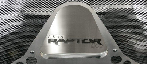 Ford Raptor - Hood Panel Etched Vanity Plate 2010-2014