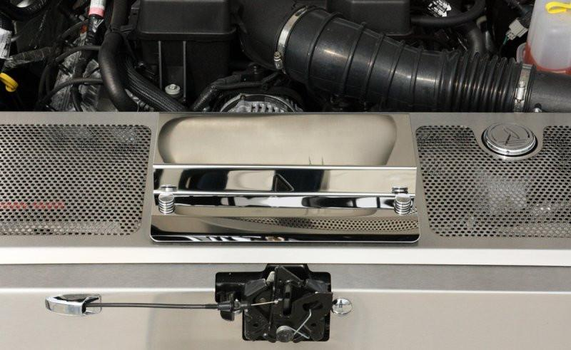 Ford Raptor - Perforated Header Plate with Battery Cover ... on