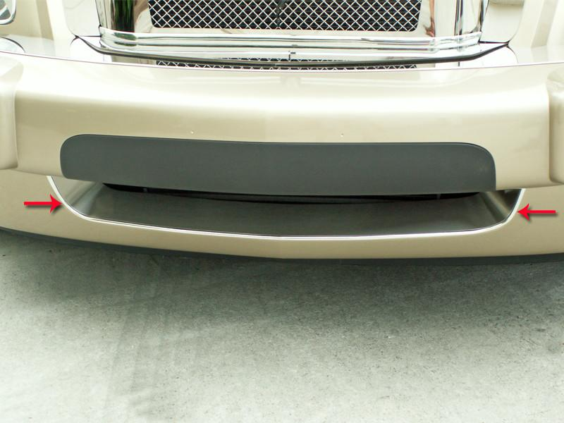 HHR Bumper Grille Insert Brushed Front Lower 2006-2010 American Car Craft