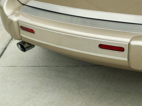 HHR Bumper Insert Brushed Rear 2006-2012 American Car Craft