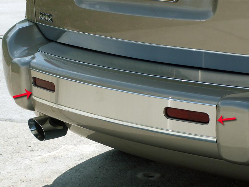 HHR Bumper Insert Polished Rear 2006-2012 American Car Craft