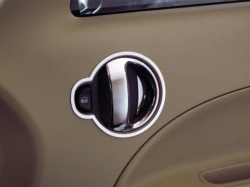 HHR Door Handle Trim Rings Polished 4Pc 2006-2012 American Car Craft