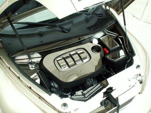 2006-2012 HHR - Engine Shroud Kit with Cap Covers | Polished Stainless Steel