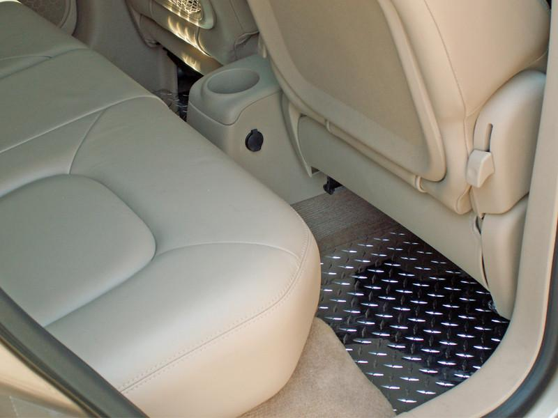 HHR Floor Mats - Diamond Plate 4Pc Polished 2006-2008 American Car Craft