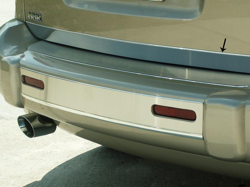 HHR Lower Tailgate Trim Polished 2006-2012 American Car Craft