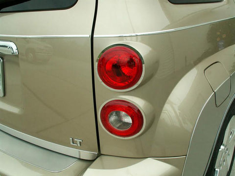 HHR Taillight Trim Brushed 4Pc 2006-2012
