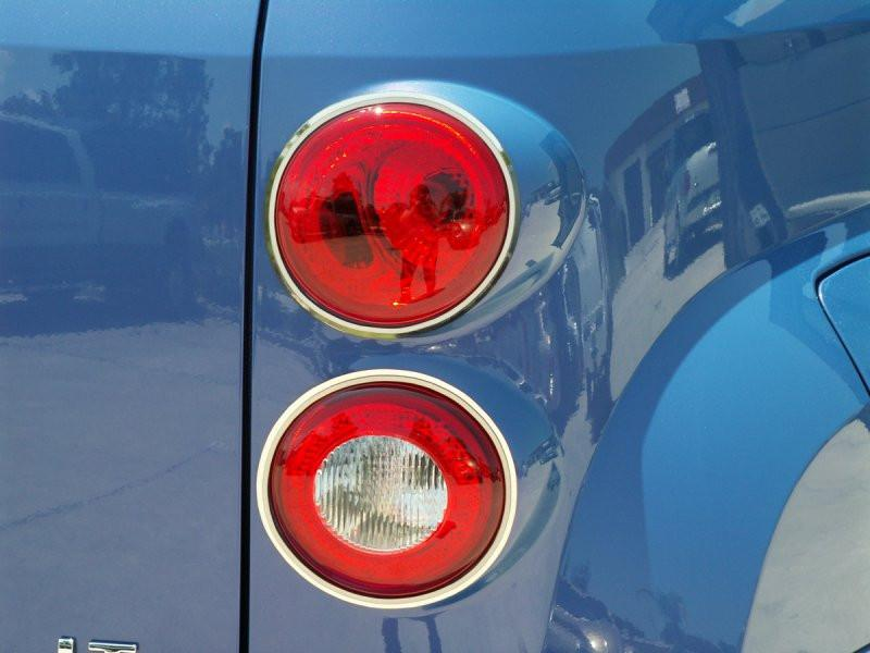 HHR Taillight Trim Polished w/Brushed Rings 2006-2012 American Car Craft