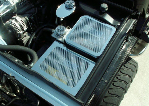 Hummer H2 Fuse Box Cover Perforated 2003-2007